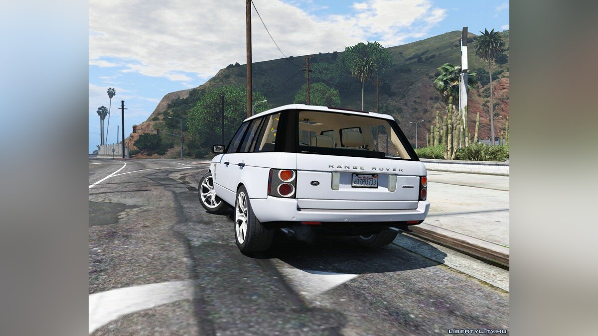 2010 Range Rover Supercharged [Add-On / Replace | Tuning] 2.2 для GTA 5 - скриншот #2