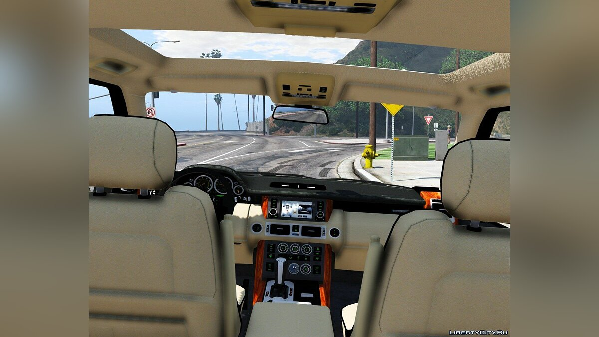 2010 Range Rover Supercharged [Add-On / Replace | Tuning] 2.2 для GTA 5 - скриншот #4