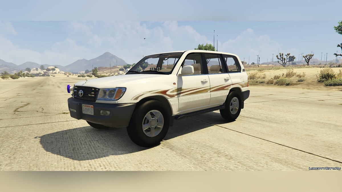 Машина Land Rover Toyota Land Cruiser 2007 [Replace] 1.7 для GTA 5