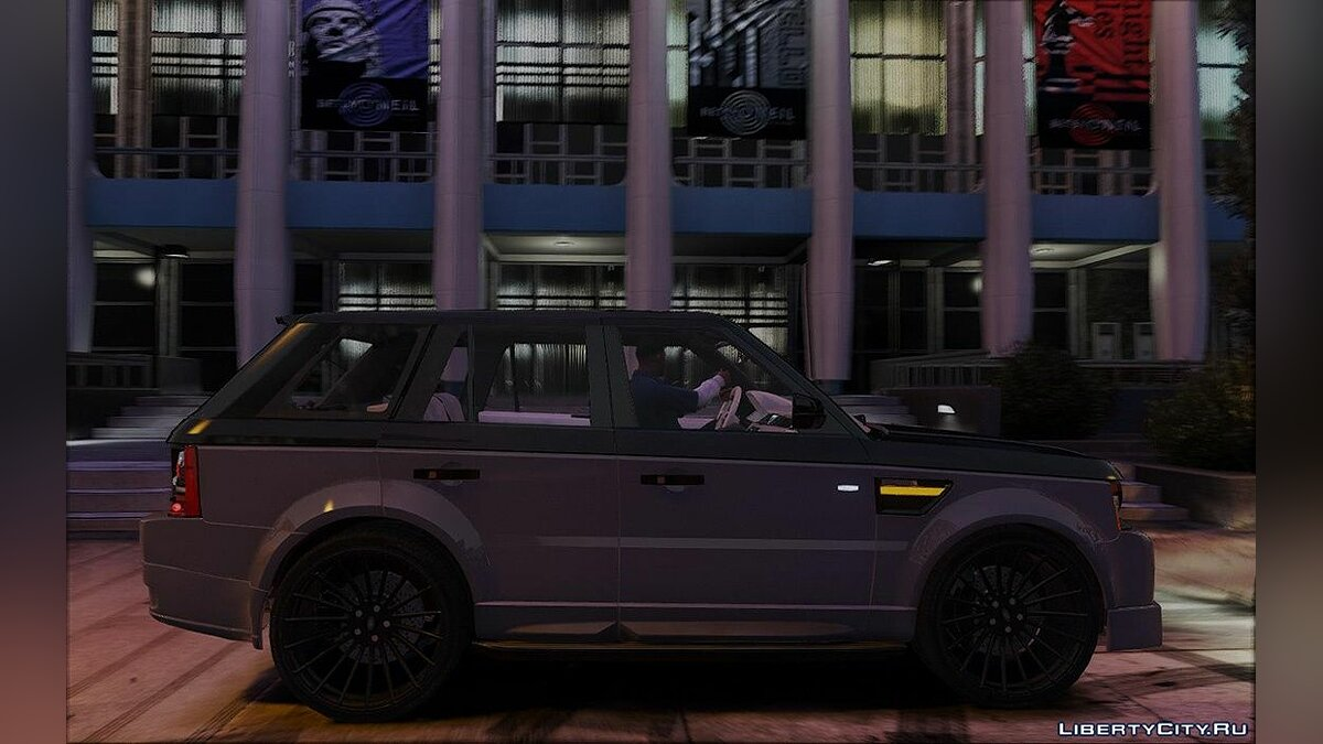 Машина Land Rover 2012 Range Rover Sport Special Edition 1.0 для GTA 5