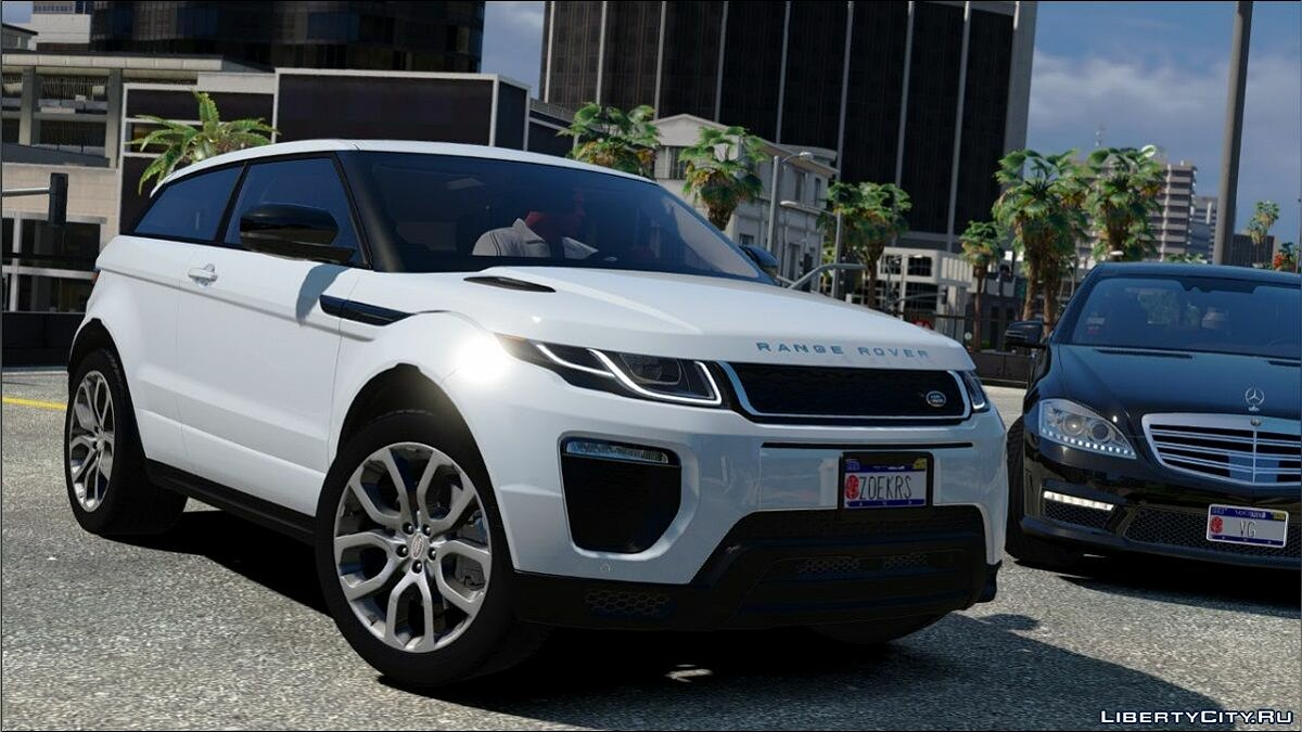 Range Rover Evoque 2016 [FINAL] для GTA 5