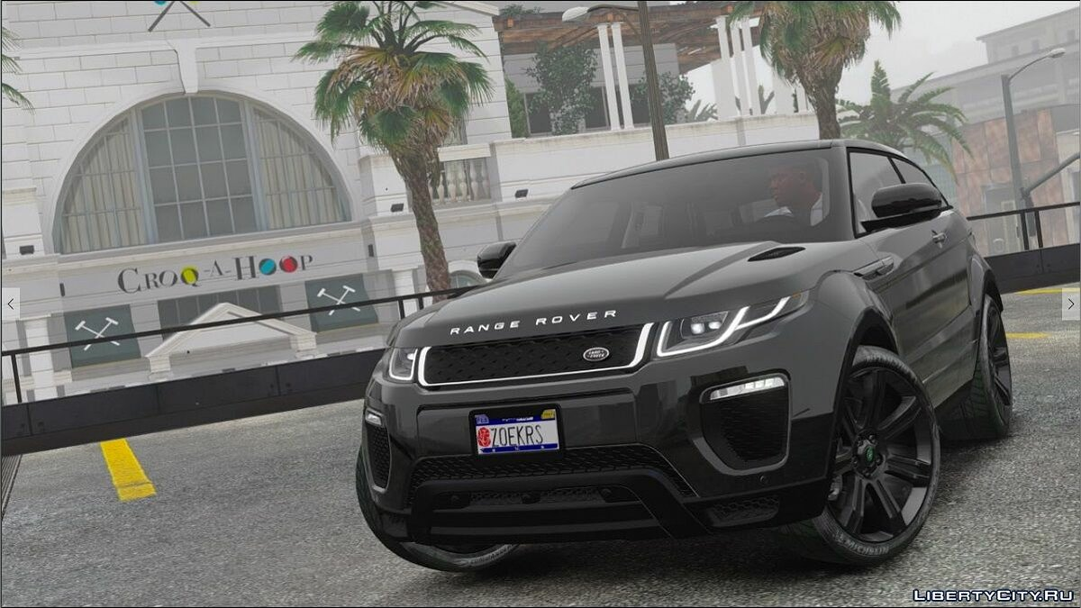 Range Rover Evoque 2016 [FINAL] для GTA 5 - скриншот #3