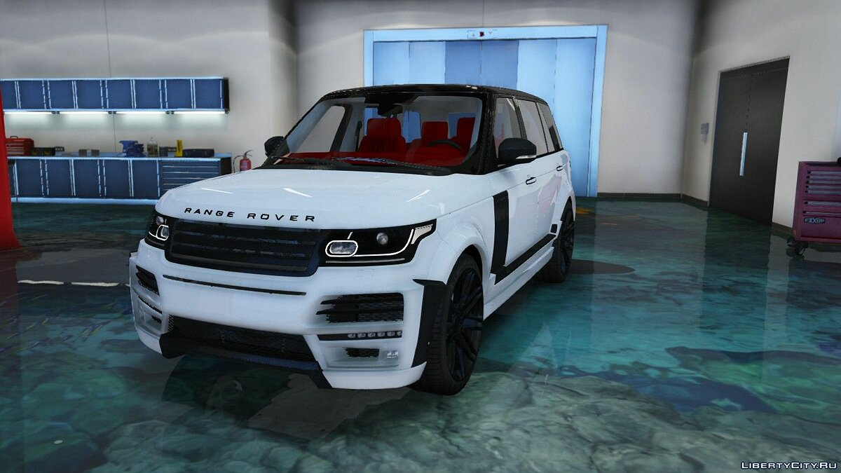 Машина Land Rover Range Rover Vogue StarTech 2019 (Add-On) для GTA 5