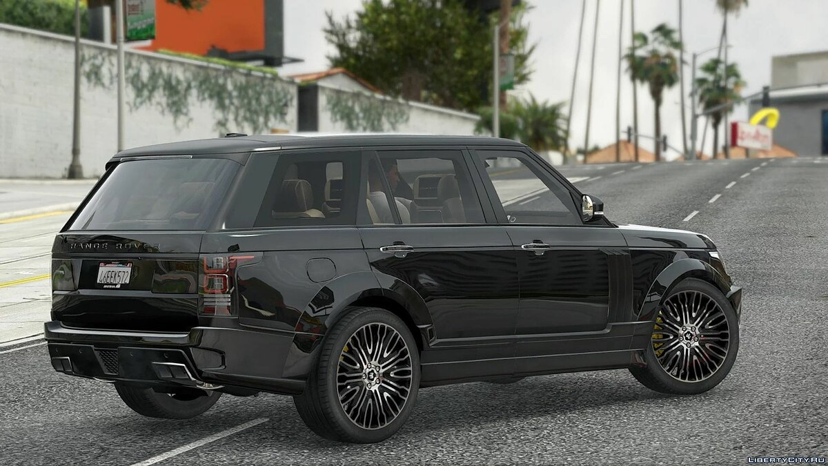 Машина Land Rover Range Rover Vogue Startech [ADD-ON/Tuning] v1.5 для GTA 5