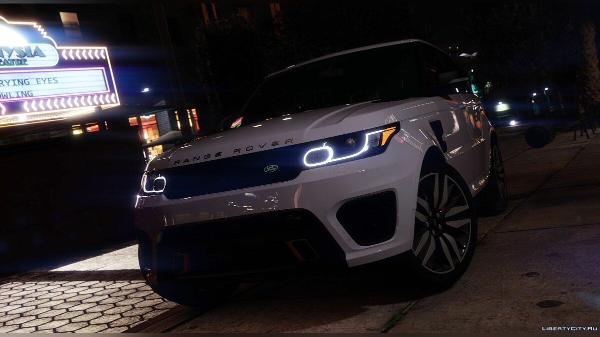 Машина Land Rover Range Rover Sport SVR 2016 [Animated / Templated / Add-On] 3.2 для GTA 5