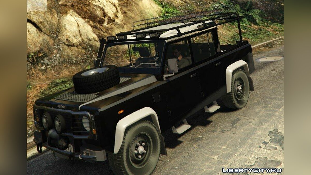 Land Rover Defender 110 Pickup для GTA 5
