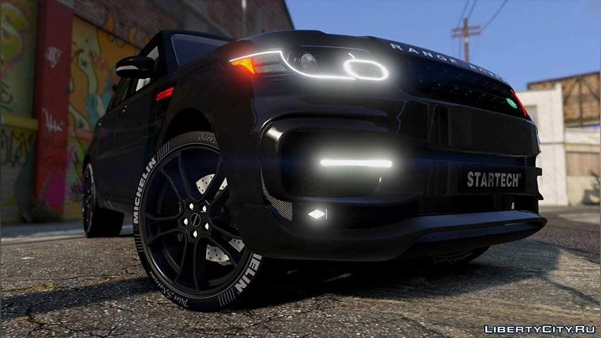 Range Rover Sport StarTech 2016 [Add-On /Animated /Templated] 1.0 для GTA 5 - скриншот #4