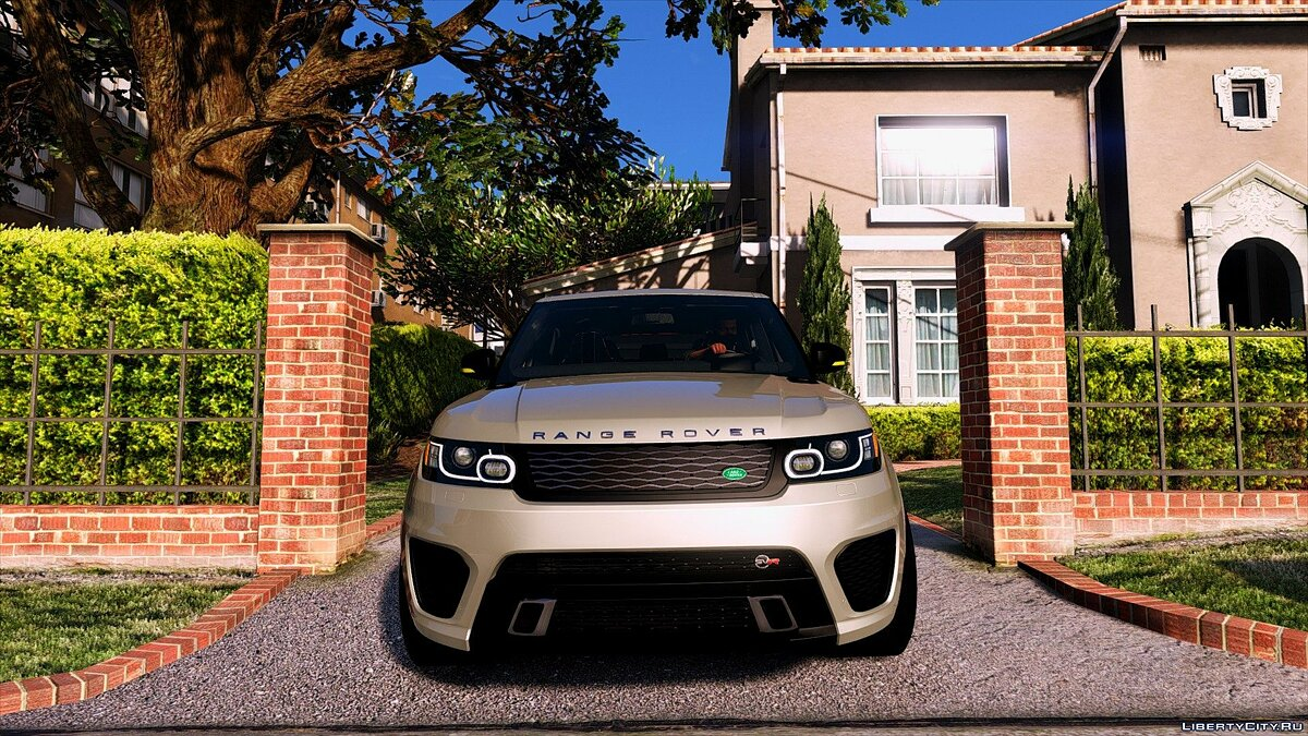 Range Rover Sport SVR 2016 [Add-On] для GTA 5