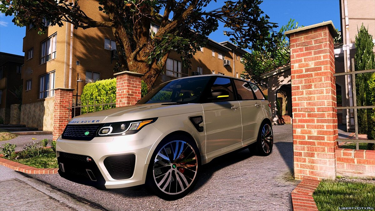 Range Rover Sport SVR 2016 [Add-On] для GTA 5 - скриншот #3