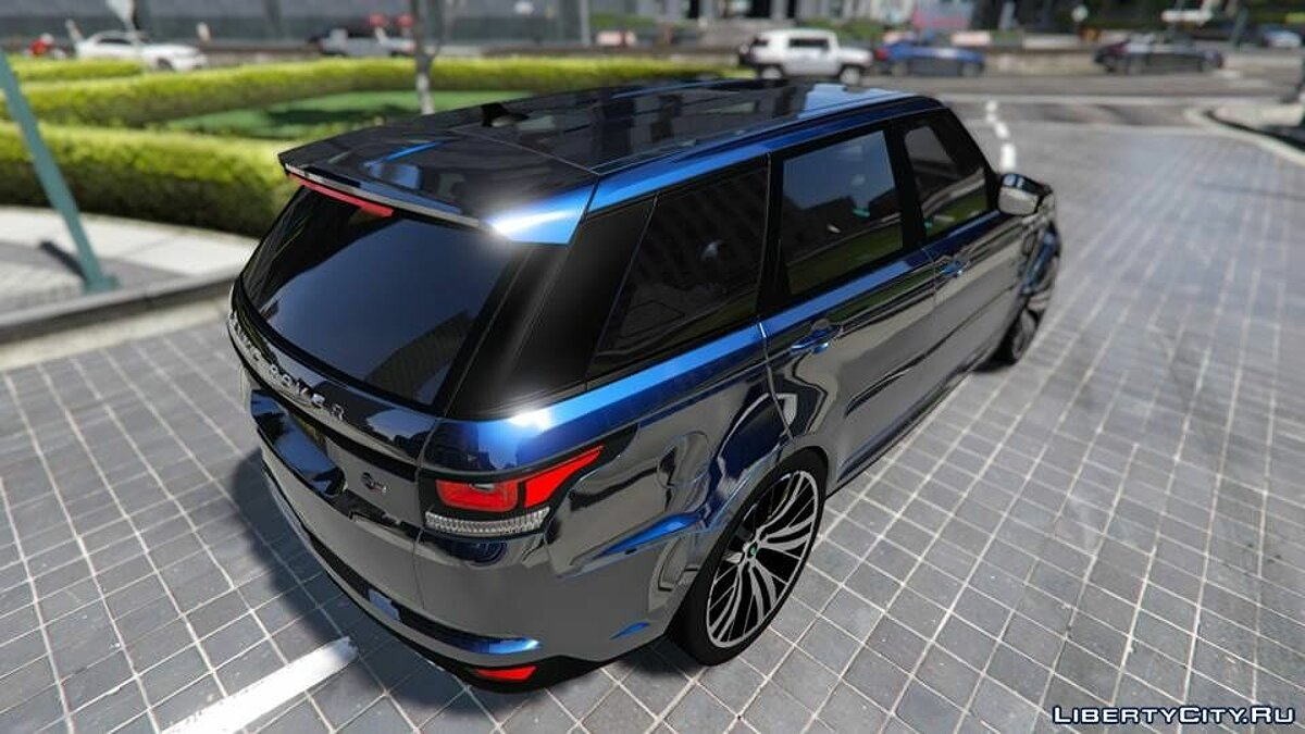 Range Rover Sport SVR 2016 [Add-On] для GTA 5 - скриншот #5