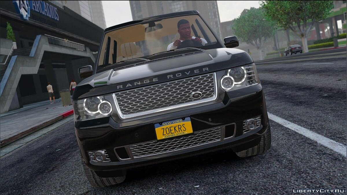 Range Rover Supercharged 2012 [Replace] для GTA 5
