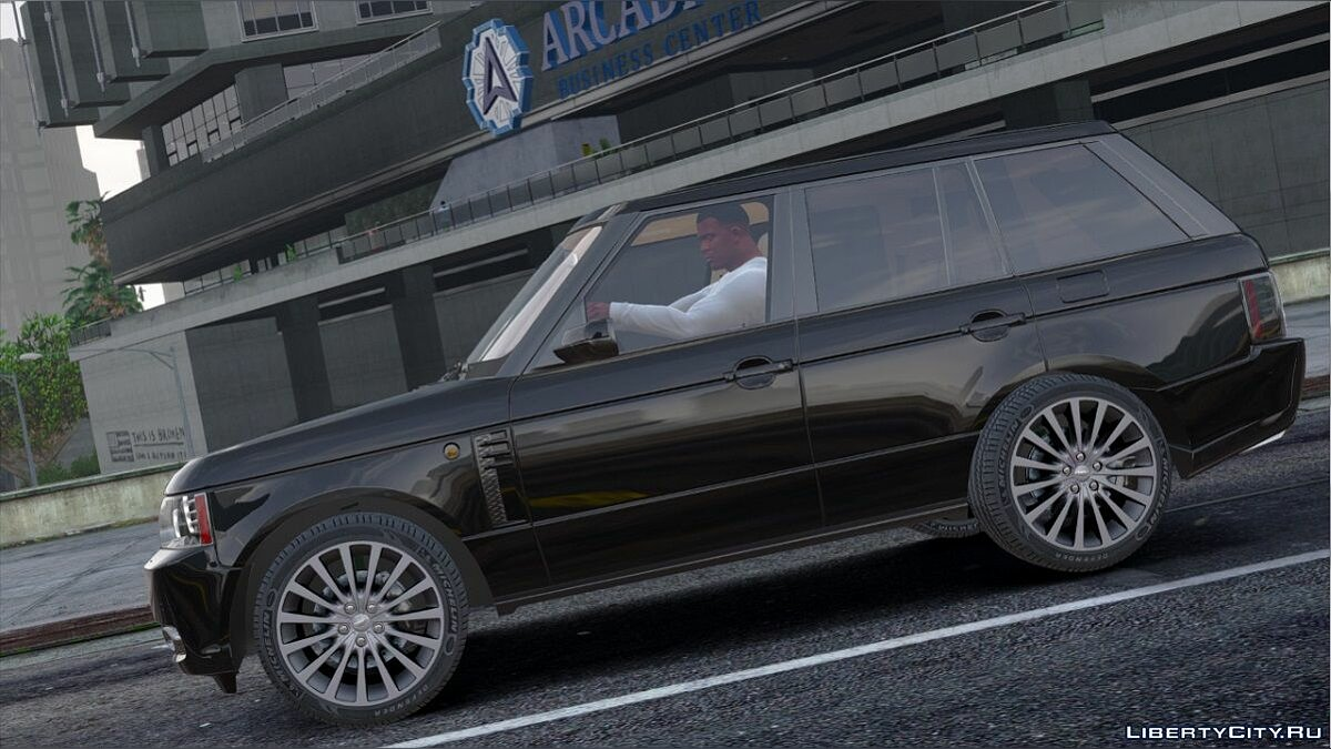 Range Rover Supercharged 2012 [Replace] для GTA 5 - скриншот #2