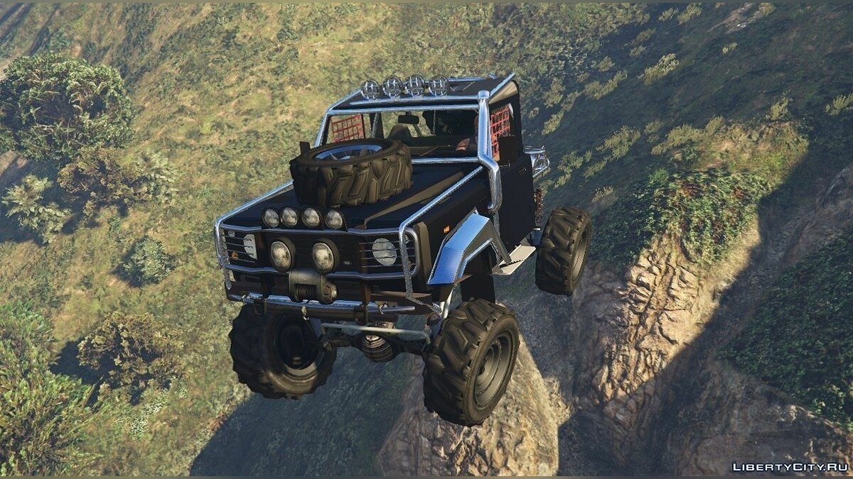 Land Rover Defender 90 SandTrail Edition 4x4 Offroad для GTA 5 - Картинка #3