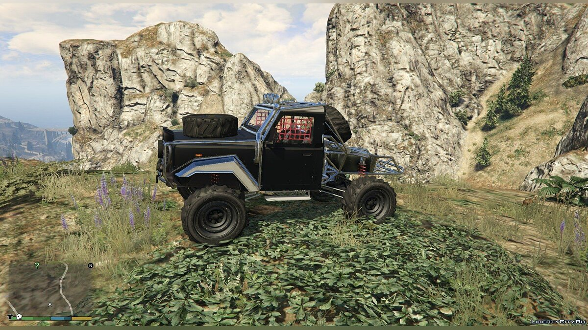 Land Rover Defender 90 SandTrail Edition 4x4 Offroad для GTA 5 - Картинка #6
