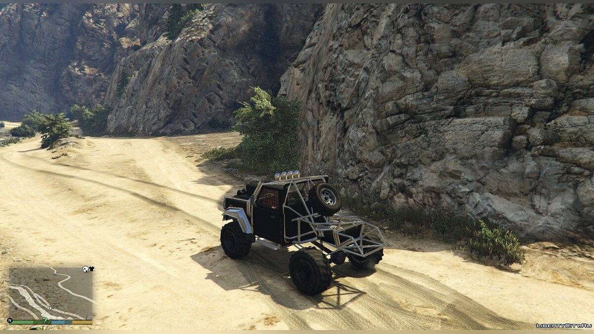Land Rover Defender 90 SandTrail Edition 4x4 Offroad для GTA 5 - Картинка #4