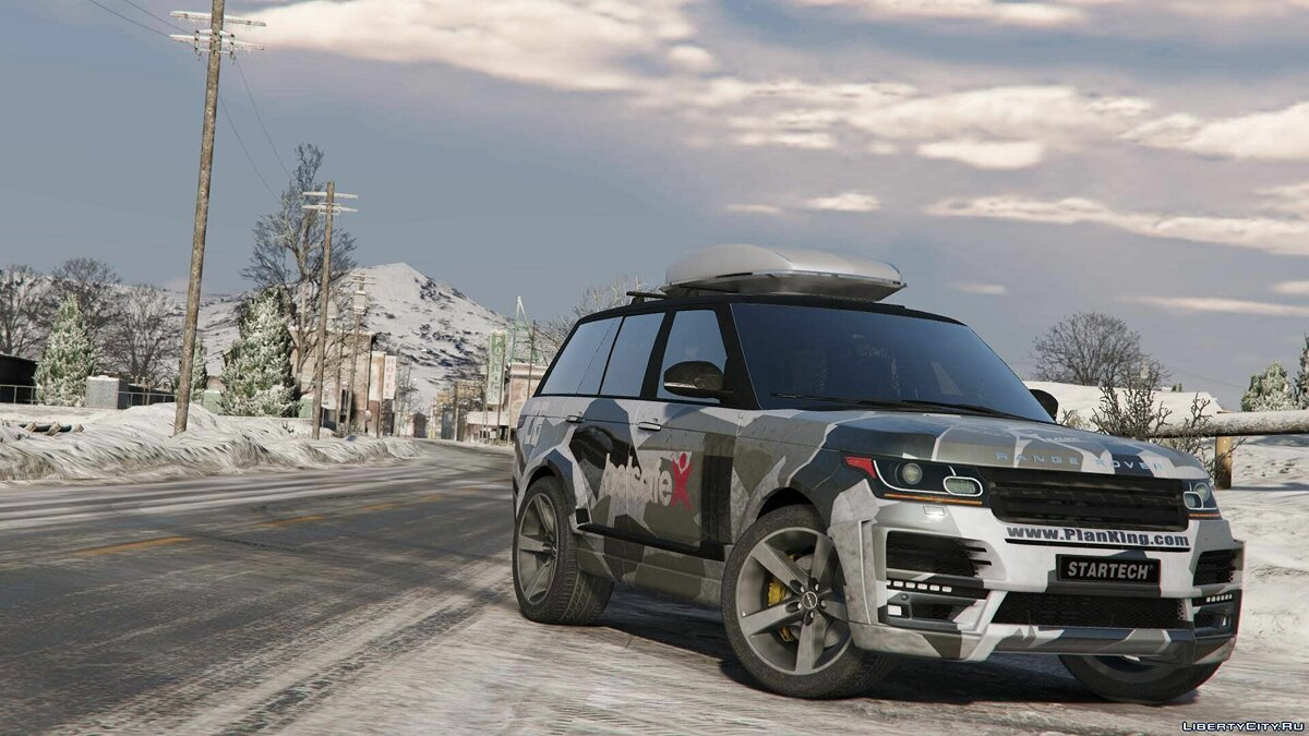 Машина Land Rover Range Rover Vogue StarTech L405 [Templated / Digital / Annimated / AddOn] 1.1 для GTA 5