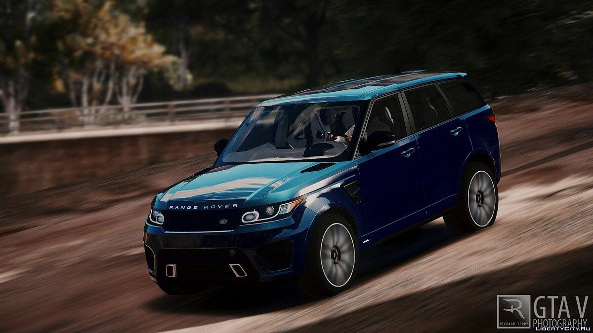 Range Rover Sport SVR 2016 [Animated / Add-On] 2.2 для GTA 5 - скриншот #4