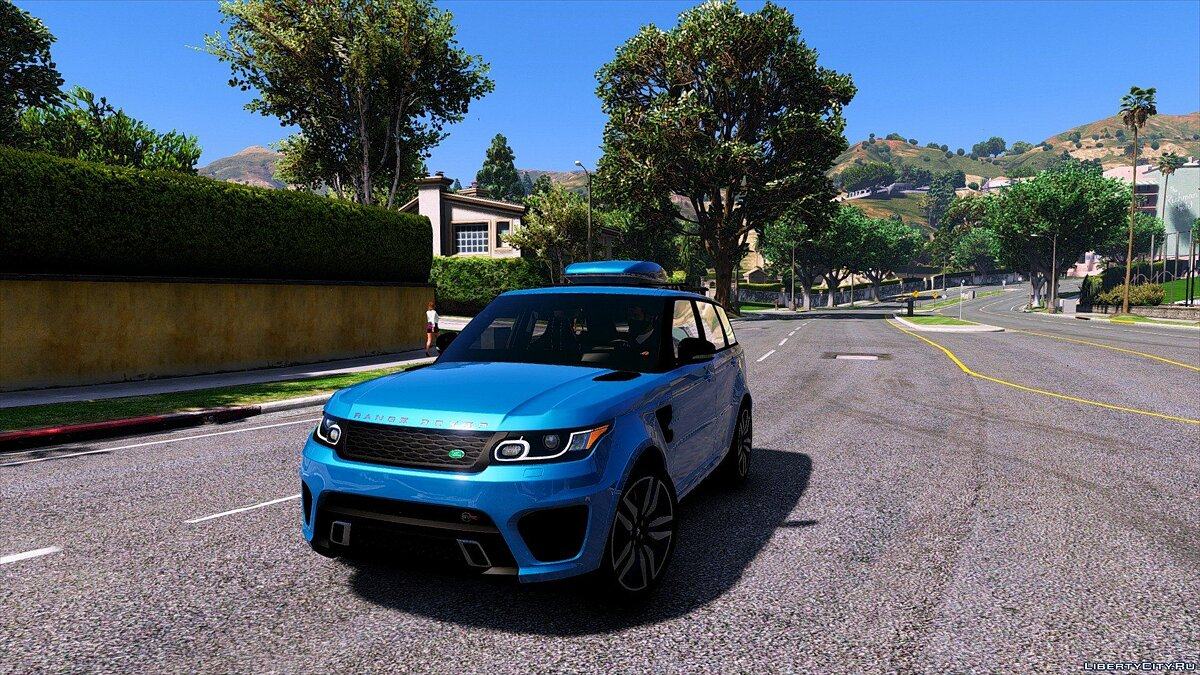 Range Rover Sport SVR 2016 [Animated / Add-On] 2.2 для GTA 5 - скриншот #8