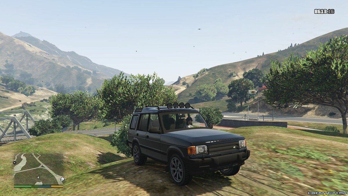 Машина Land Rover Land Rover Discovery Series 1 1.0 для GTA 5
