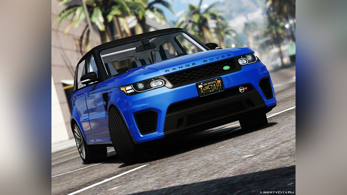 2016 Range Rover Sport SVR [Add-On / Replace] 1.2 для GTA 5