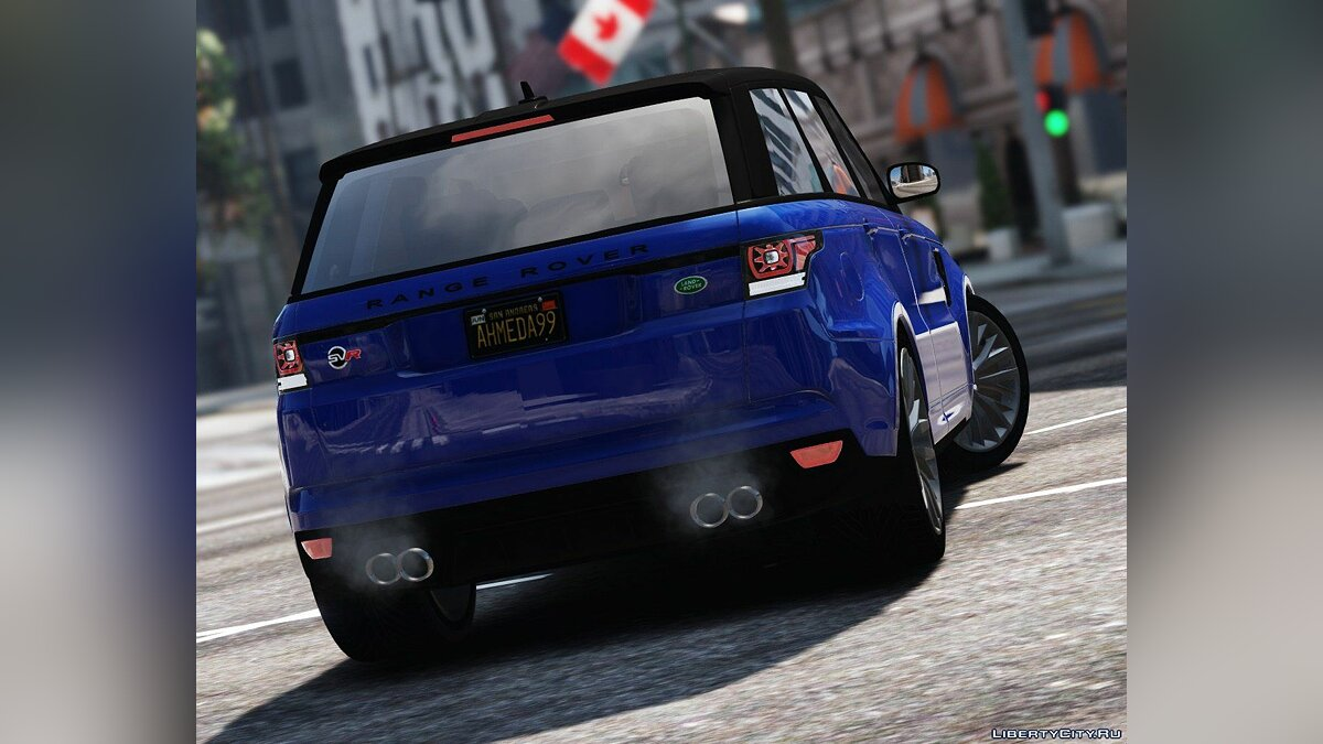 2016 Range Rover Sport SVR [Add-On / Replace] 1.2 для GTA 5 - скриншот #2