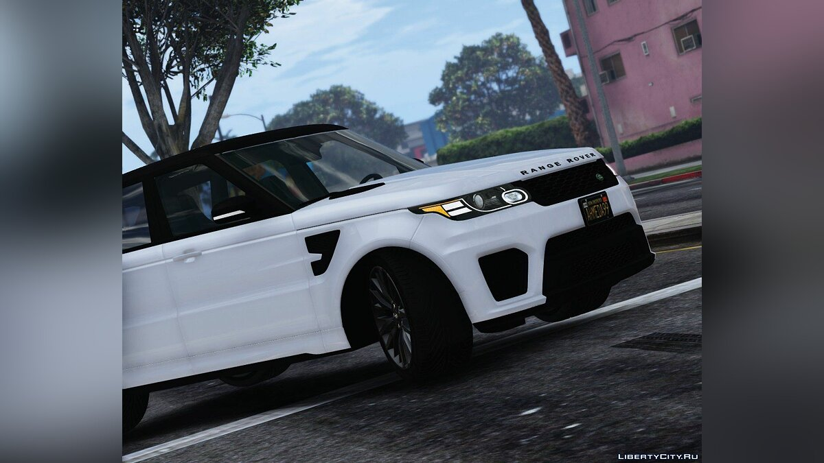 2016 Range Rover Sport SVR [Add-On / Replace] 1.2 для GTA 5 - скриншот #5