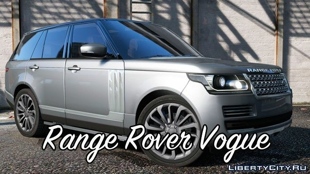 Range Rover Vogue 2015 для GTA 5 - скриншот #2
