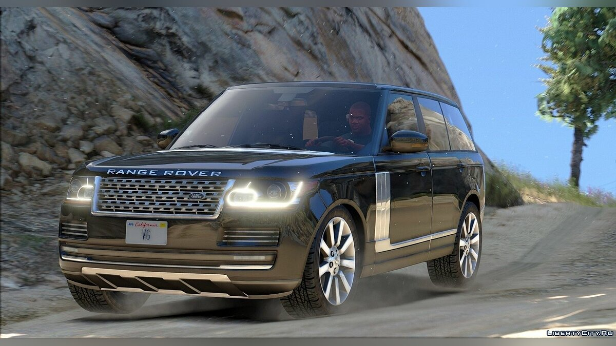 Range Rover Vogue 2015 для GTA 5