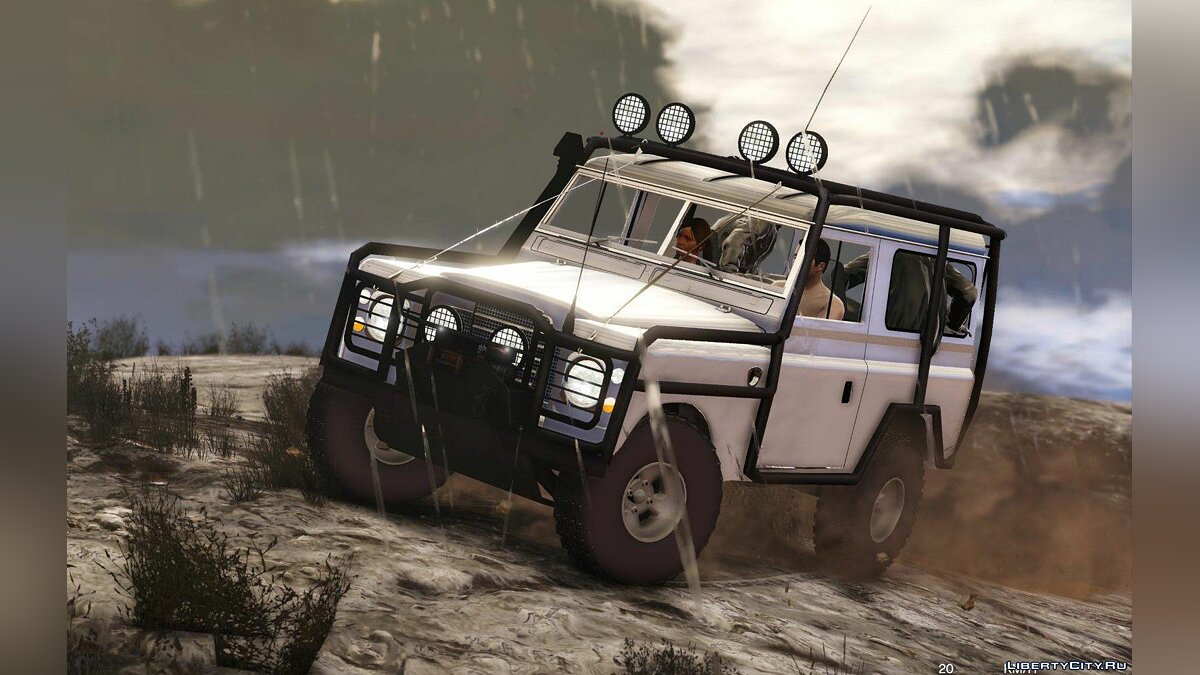 Land Rover Pickup Series 3 1988 [Add-On | Replace | Livery | Extras] 1.0 для GTA 5