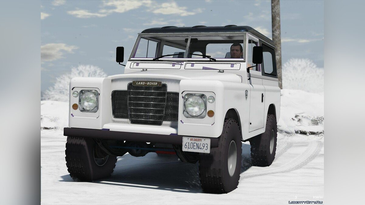 Land Rover Pickup Series 3 1988 [Add-On | Replace | Livery | Extras] 1.0 для GTA 5 - скриншот #4
