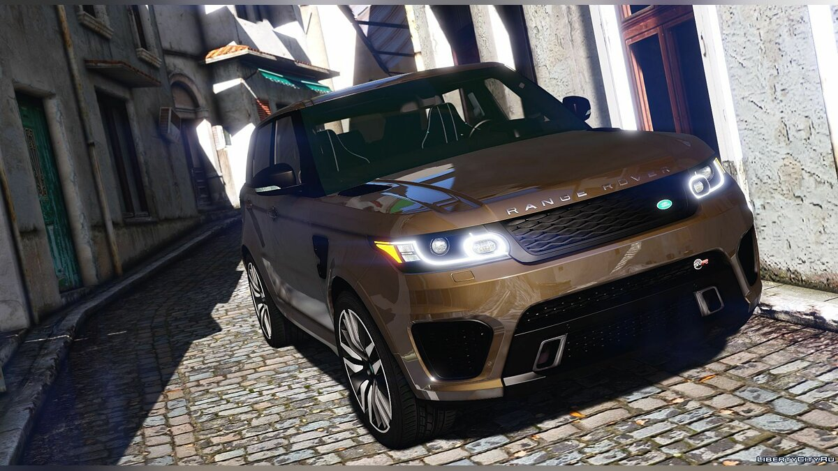 Range Rover Sport SVR 2016 [Animated / Templated / Add-On] 3.0 для GTA 5