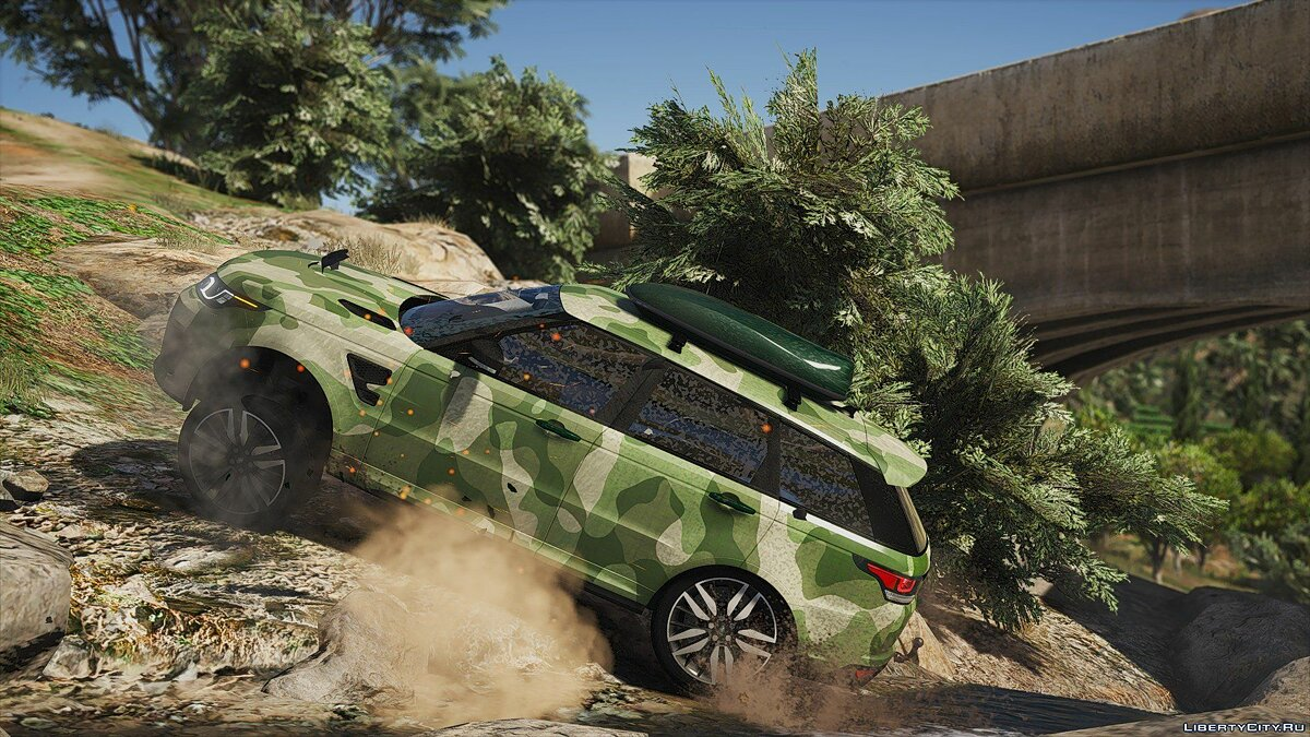 Range Rover Sport SVR 2016 [Animated / Templated / Add-On] 3.0 для GTA 5 - скриншот #2