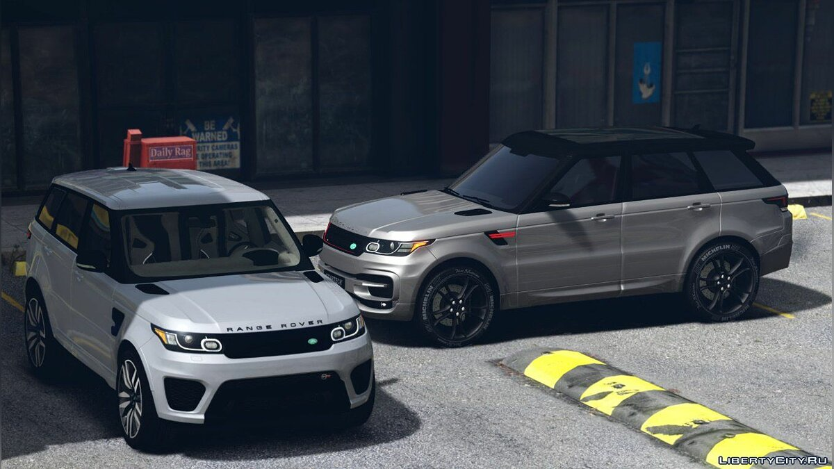 Range Rover Sport SVR 2016 [Animated / Templated / Add-On] 3.0 для GTA 5 - скриншот #5