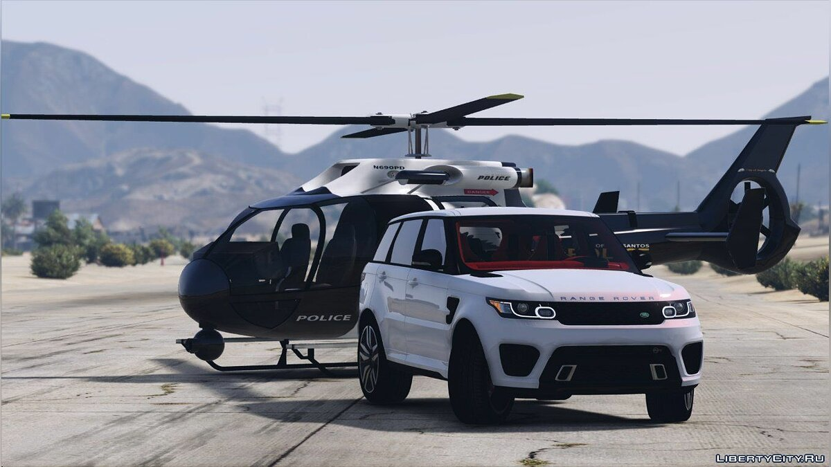 Range Rover Sport SVR 2016 [Animated / Templated / Add-On] 3.0 для GTA 5 - скриншот #8