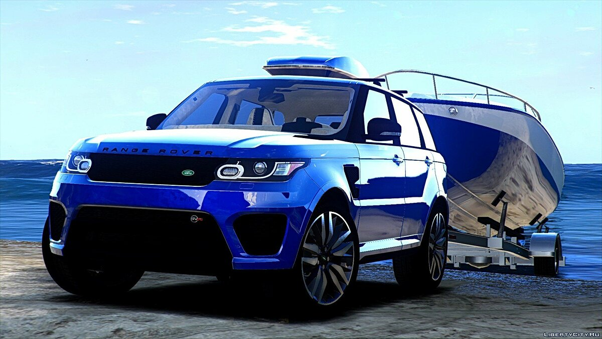 Range Rover Sport SVR 2016 [Animated / Templated / Add-On] 3.0 для GTA 5 - скриншот #9