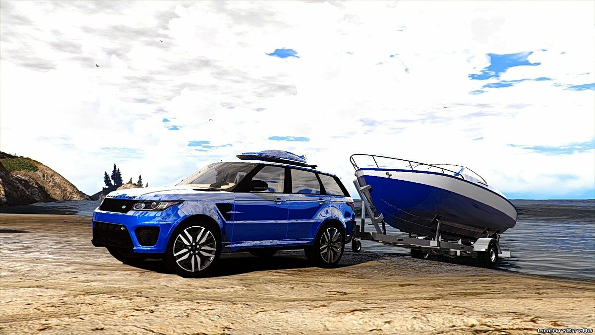 Range Rover Sport SVR 2016 [Animated / Templated / Add-On] 3.0 для GTA 5 - скриншот #12
