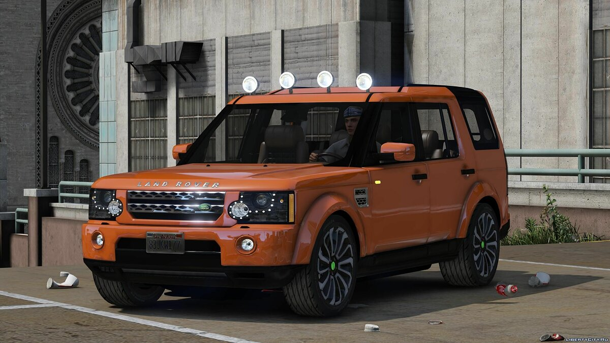 Машина Land Rover Land Rover Discovery 4 (add-on) 4.0 для GTA 5