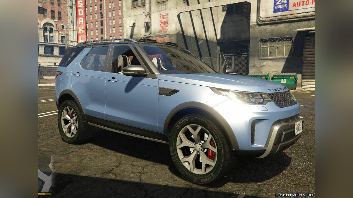 Машина Land Rover Land Rover Discovery V SVX 2018 [HQ / Add-on] для GTA 5