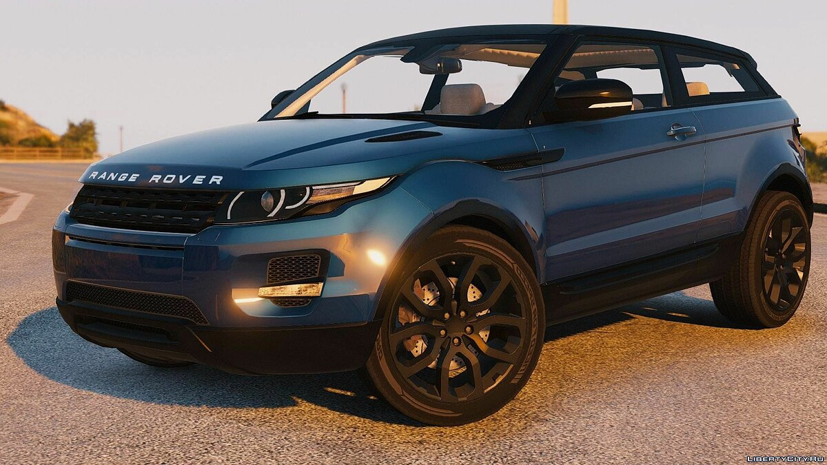Range Rover Evoque + Template [Add-On / Replace] 6.0 для GTA 5