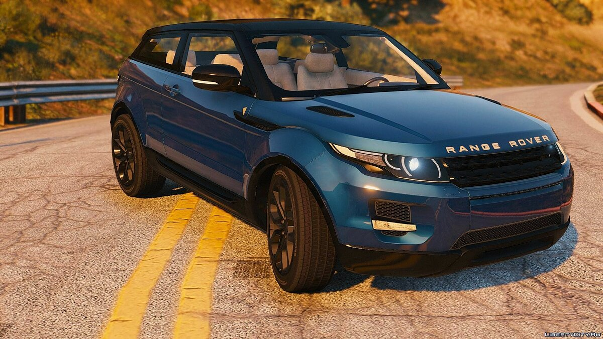Range Rover Evoque + Template [Add-On / Replace] 6.0 для GTA 5 - скриншот #2