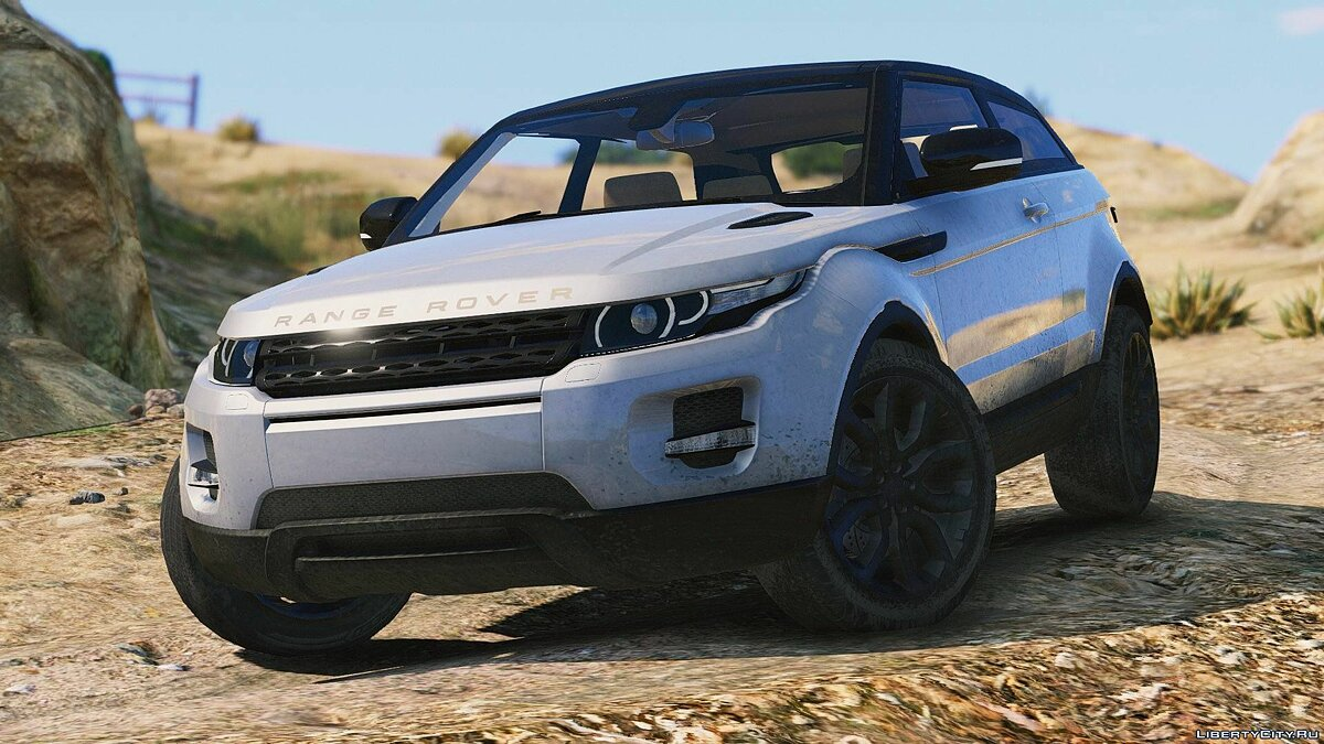 Range Rover Evoque + Template [Add-On / Replace] 6.0 для GTA 5 - скриншот #6