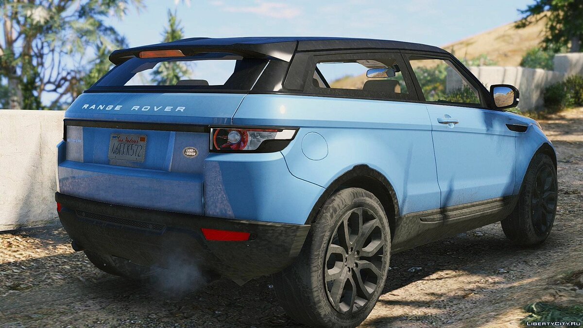 Range Rover Evoque + Template [Add-On / Replace] 6.0 для GTA 5 - скриншот #7