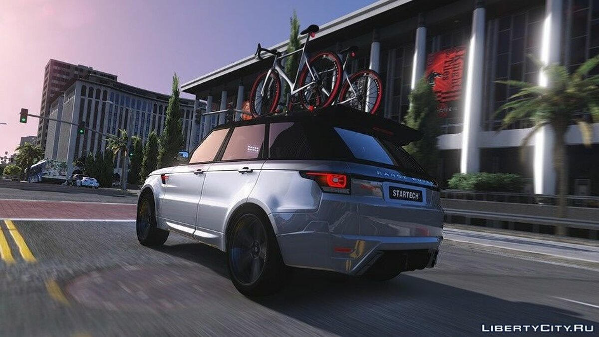 Машина Land Rover Range Rover Sport StarTech 2016 [Add-On /Animated /Templated] 1.2 для GTA 5