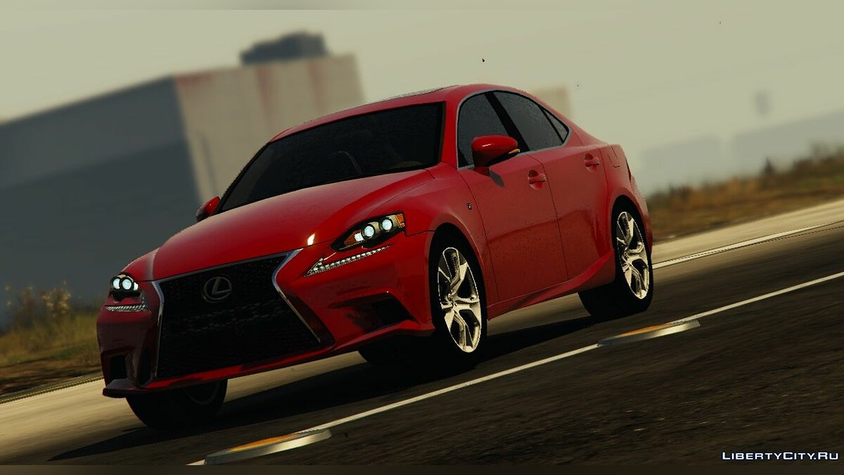 2014 Lexus IS 350 F-Sport [Add-On / Replace | Unlocked] 2.00 для GTA 5 - скриншот #2