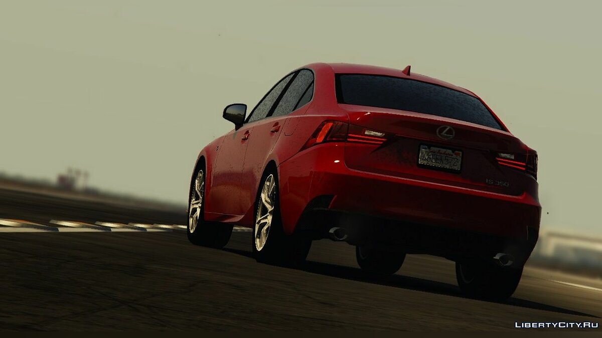 2014 Lexus IS 350 F-Sport [Add-On / Replace | Unlocked] 2.00 для GTA 5