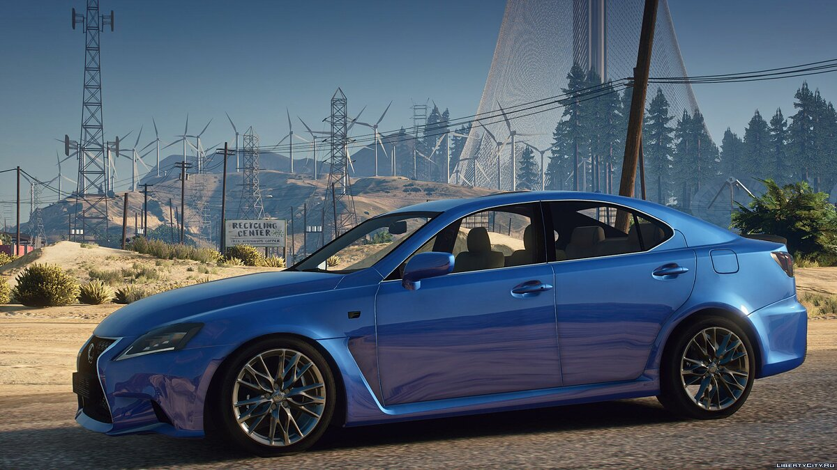 Машина Lexus Lexus IS F Sport для GTA 5