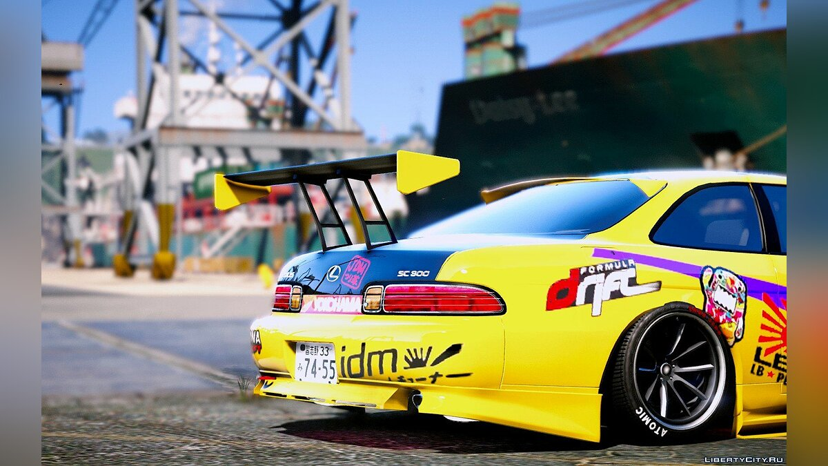 Lexus SC300 Package [Add-On | Tuning] 1.0 для GTA 5 - скриншот #2