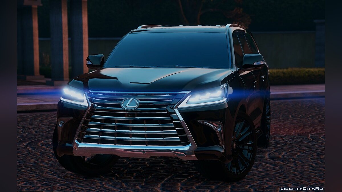 Lexus LX570 2016 [Add-On / Replace] 1.2 для GTA 5