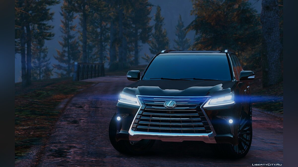 Lexus LX570 2016 [Add-On / Replace] 1.2 для GTA 5 - скриншот #3