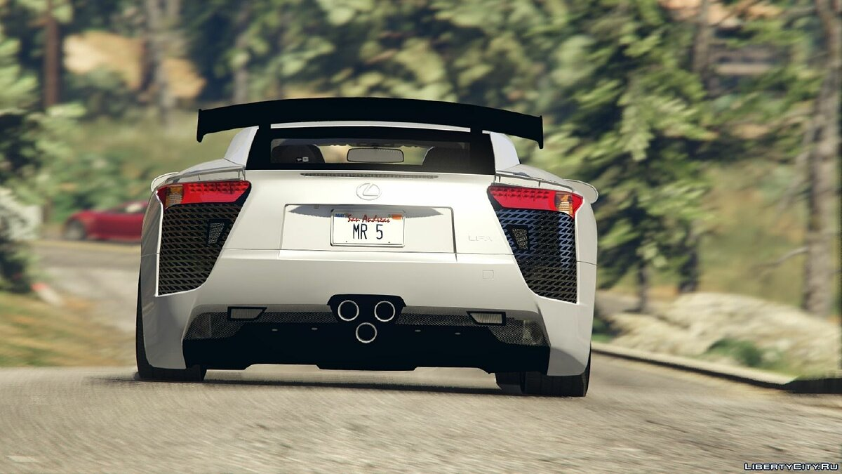 Lexus LFA Nurburgring Package 2012 для GTA 5 - скриншот #2